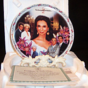 The Young & The Restless: JILL'S ESCAPADES  Collector's Plate