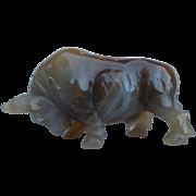 SALE PENDING Faberge Objects D'Art Hardstone Figurine