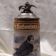 SALE Budweiser Bird of Prey Beer Stein LE 1992
