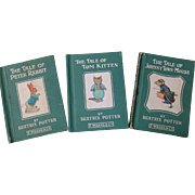 Beatrix Potter Books Tom Kitten Peter Rabbit Johnny Town Mouse