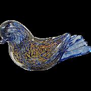 Murano Glass Blue Bird