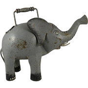 SOLD Vintage Iron Elephant Watering Can