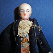 Larger German Doll House Man Bald