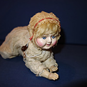 "Ives ""The Wonderful Creeping Baby"" Doll working"