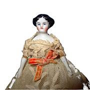 Tiny Flat Top China doll