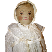 Large Babyland Doll Painted Features