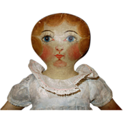 SOLD Oil Painted Betty Lu Cloth Doll