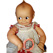 Kewpie on Miss Peep Body