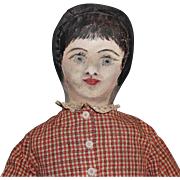 American Folk Art Doll