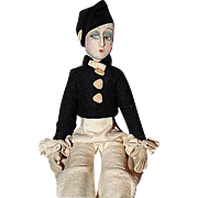 Felt Boudoir doll
