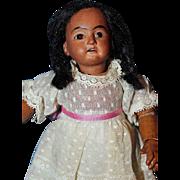 AM 1894 Black Bisque Doll