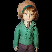 SOLD Lenci Boy Doll A/O
