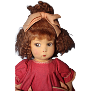 Early Lenci Girl Doll