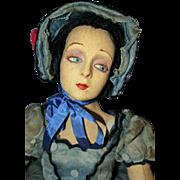 SOLD Rare Lenci Boudoir Doll