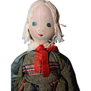 Polish Relief Boy Doll by Madame Paderewski