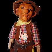 Steiff Early Boy Cowboy