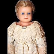 Wax Over Mache Doll