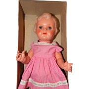Minerva Celluloid Doll in the box