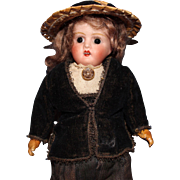 Verlingue French Bisque Doll