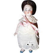 Small All Bisque Doll