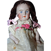 Bent Knee All Bisque Doll
