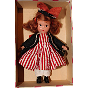 Nancy Ann Storybook Doll 123 One Two Buckle My Shoe