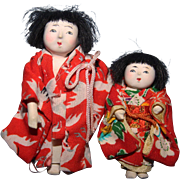 Tiny Japanese Dolls