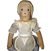 Alice in Wonderland cloth Alexander Doll