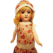 Large Herm Steiner Flapper Doll
