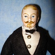 Doll House man with Goatee Moustache