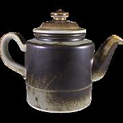 Porsgrund of Norway, Eames Era Teapot Lava Design