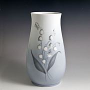 Bing & Grondahl Lily of the Valley Porcelain Vase