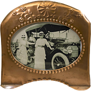 SOLD Copper Picture Frame From the Early 20th Century