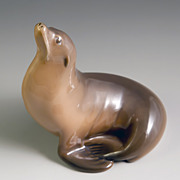 Royal Copenhagen Sea Lion Figurine