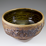 Large Stoneware Bowl By Conny Walther