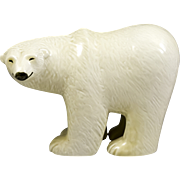 Large Lisa Larson Gustavsberg Polar Bear Figurine