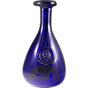 Holmegaard Cobalt Blue Viking Carafe