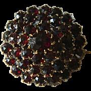SALE Victorian era- Garnet pin