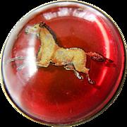 Vintage- Horse-bridal ornament-Pin
