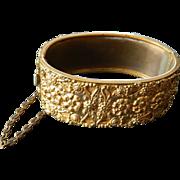 Vintage 1910-1930- brass bracelet