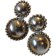 SALE Big and bold- Dangling clip Earrings