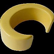 Bold-thick Bakelite Cuff bracelet