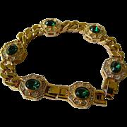 Medallion-link Bracelet