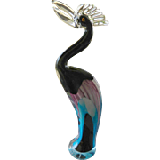 Spectular cased glass Bird figure