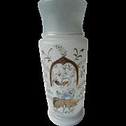 Victorian Bristol glass vase