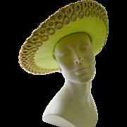 Elegant designer hat