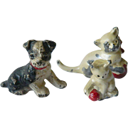Vintage lead animal Figures