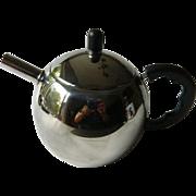 Very charming little Chrome finish-tea-coffee Pot