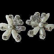 Beautiful signed Designer earrings