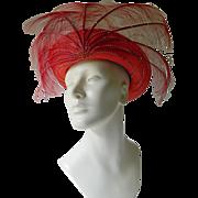 Fabulous designer- George Zamau'l  hat
